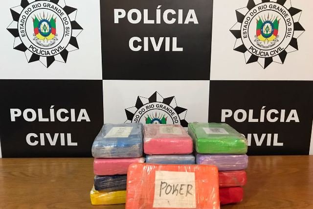 Em Taquara, ação conjunta apreende 27 quilos de cocaína na RS-239