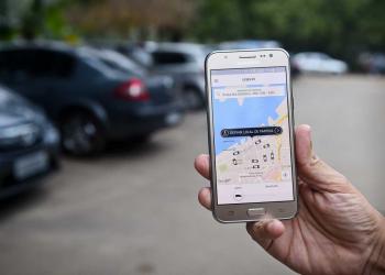 Aplicativo Uber. (Foto: Ederson Nunes/CMPA)