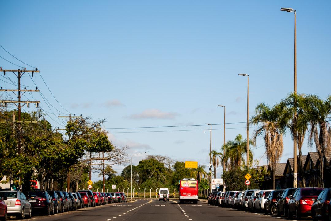 Avenida Mauá, no Centro Histórico de Porto Alegre. Foto: Joel Vargas / PMPA