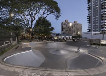 Complex Skatepark. Foto: Marcelo Donaduassi/Divulgação