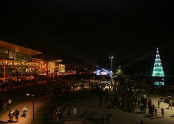 Decoração do Park Shopping Canoas. Foto: Salomão Cardoso/Divulgação
