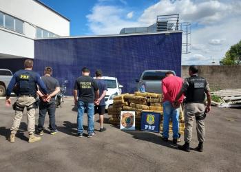 Presos foram encaminhado à Polícia Federal de Passo Fundo. Foto: Divulgação/PF