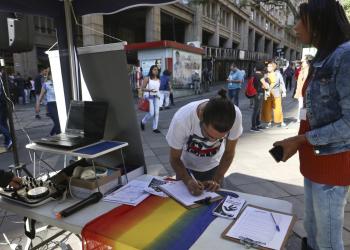 Evento é organizado por 18 coletivos LGBTI de Porto Alegre. Foto: Luciano Lanes / PMPA