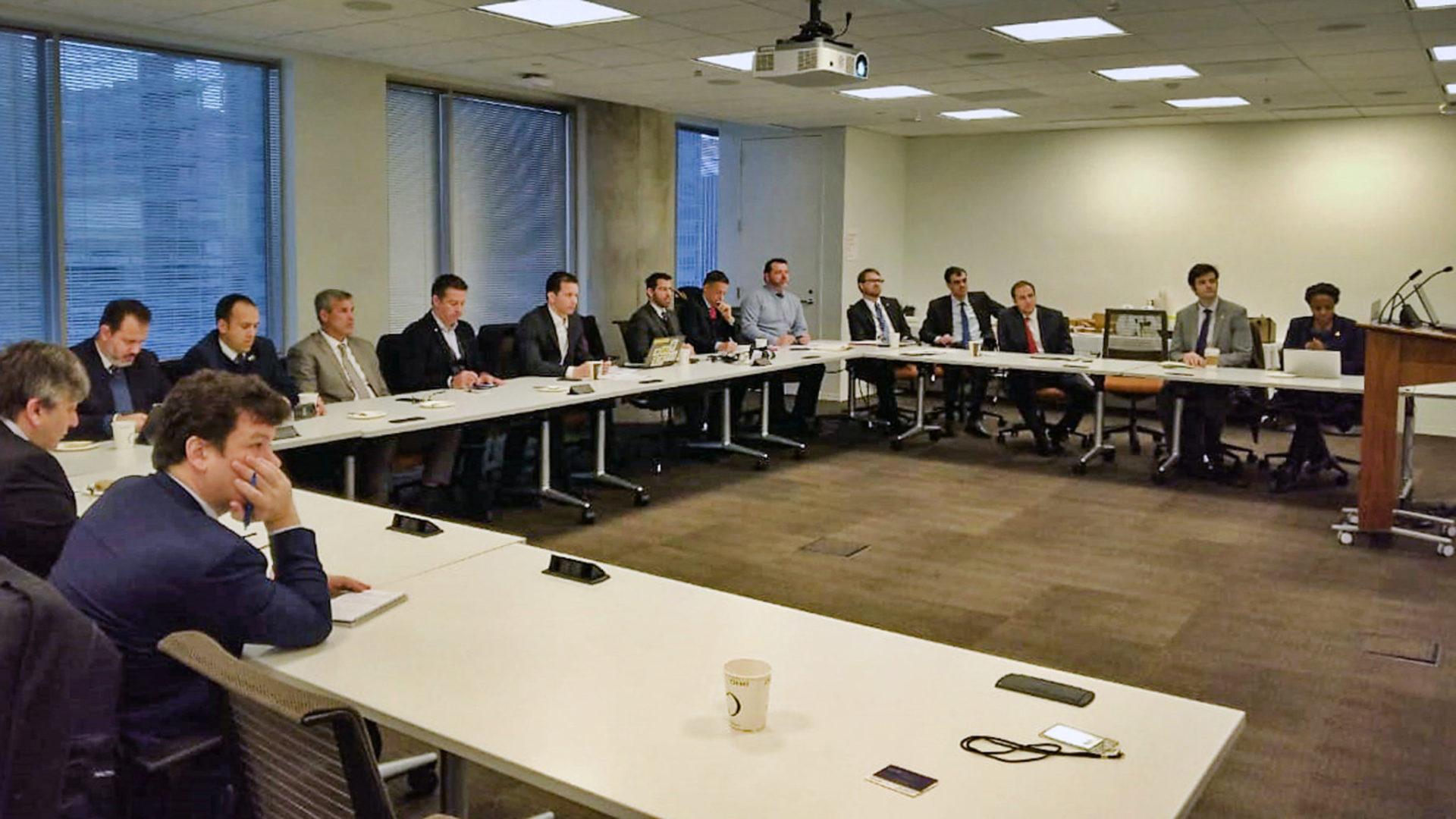 Missão aos EUA discute plano de investimentos para o 4º Distrito. Foto: PMPA