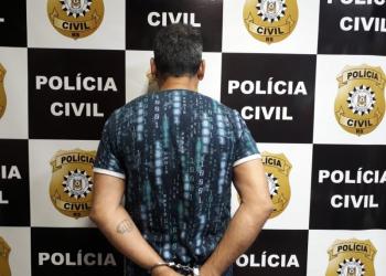 Homem tem 53 anos e foi preso em flagrante. Foto: Divulgação/Polícia Civil