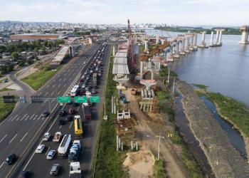 Foto: Consórcio Nova Ponte do Guaíba / DNIT /Divulgação