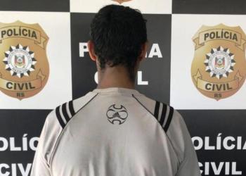 Identidade do homem não foi divulgada. Foto: Polícia Civil/Divulgação