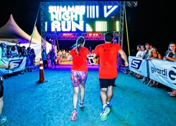 Em 2018, a Summer Night Run reuniu mais de 2,3 mil corredores. Foto: Divulgação