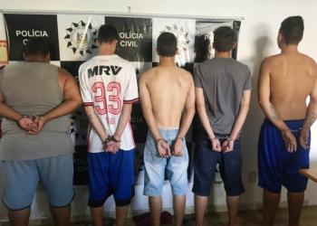 Foram cumpridos mandados de busca em diversos locais. Foto: Divulgação/Polícia Civil