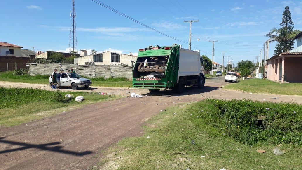 Área foi isolada pela Brigada. Foto: Divulgação/EMBM