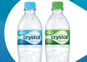 Água Mineral - Crystal. Foto: Divulgação