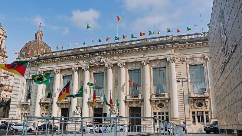 Palácio Piratini, sede do governo do Rio Grande do Sul. Foto: Alex Rocha/Palacio Piratini (Arquivo)