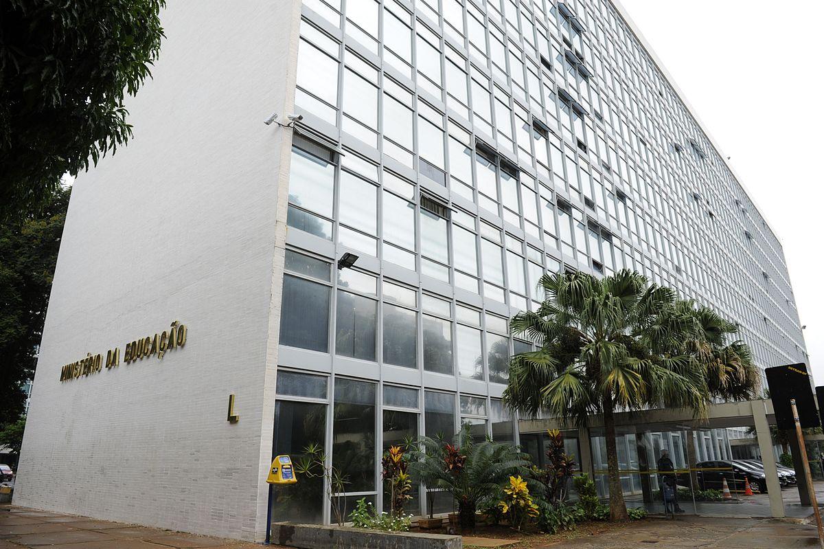 Prédio do Ministério da Educação, em Brasília. Foto:Marcos Oliveira/Agência Senado