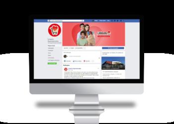 Desde o mês de fevereiro os clientes podem acessar a página no Facebook e seguir o perfil no Instagram dos Supermercados Languiru. Foto: Divulgação