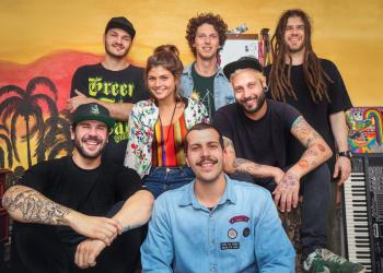 Banda Beats N Bong. Foto: Gabriela Paganelli/Divulgação