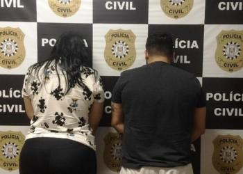 A dupla foi presa preventivamente. Foto: Divulgação/Polícia Civil