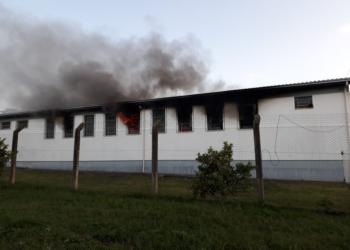 Detentos avisaram sobre o incêndio no local. Foto: Divulgação/Susepe