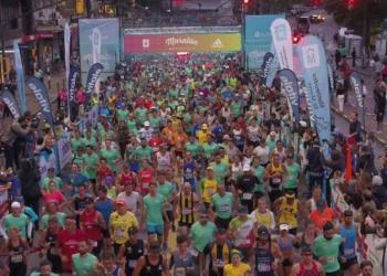 O percurso é certificado pela Associação Internacional de Federações de Atletismo. Foto: Maratón Montevideo/Divulgação