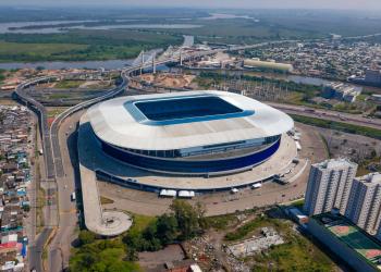 Arena do Grêmio, localizada no Bairro Humaitá, na Capital. Foto: Luciano Lanes/Arquivo PMPA