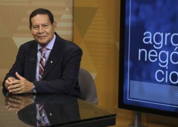 O vice presidente da Republica, Hamilton Mourão. Foto: Marcello Casal Jr/Agência Brasil
