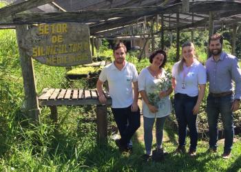 ETA fará a preparação de 300 mudas nativas resgatadas que serão plantadas em área de construção do empresa. Foto: Divulgação