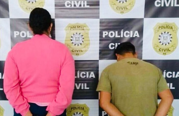 A prisão ocorreu no bairro Itapuã, onde o casal ainda residia junto. Foto: Divulgação/Polícia Civil