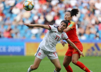 Espanha e China ficaram no 0 a 0. Foto: Getty Images