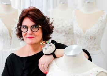 """Solaine Piccoli, a """"estilista dos sonhos"""", participa do bate-papo. Foto: Divulgação"""