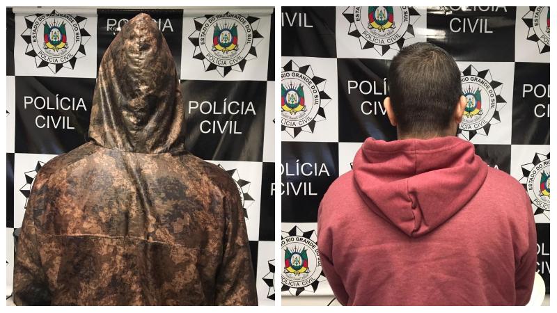 A identidade dos comerciantes não foi divulgada. Foto: Divulgação/Polícia Civil