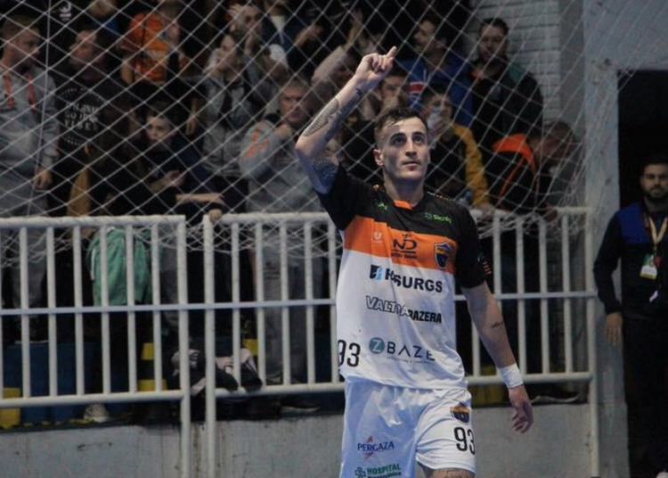 Pablo Yago Radaeli, de 22 anos, atuava como ala no Passo Fundo Futsal. Foto: Guilherme Canal/Passo Fundo Futsal