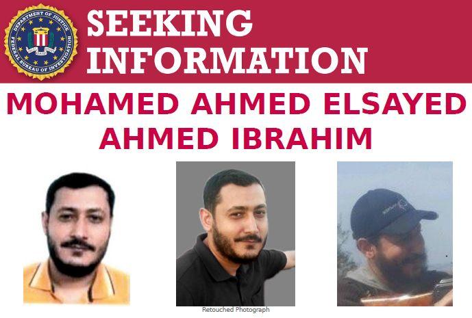Egípcio suspeito de ajudar Al-Qaeda é procurado no Brasil. Foto: Divulgação/FBI