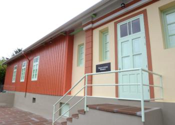 Estação da Cultura de Montenegro, local da oficina de joias sustentáveis