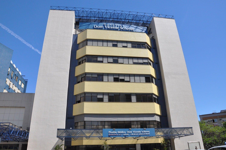Hospital Dom Vicente Scherer, em Porto Alegre. Crédito: divulgação /Santa Casa