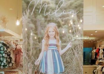 Banner na loja Milon, que participa do Quarta Shop&Music