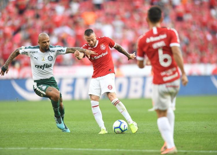 Inter perdeu oportunidade de se aproximar dos líderes. Foto: Ricardo Duarte/Divulgação