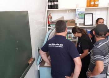 Operação da Força-Tarefa do Programa Segurança Alimentar aconteceu em Rondinha. Foto: Divulgação/MPRS