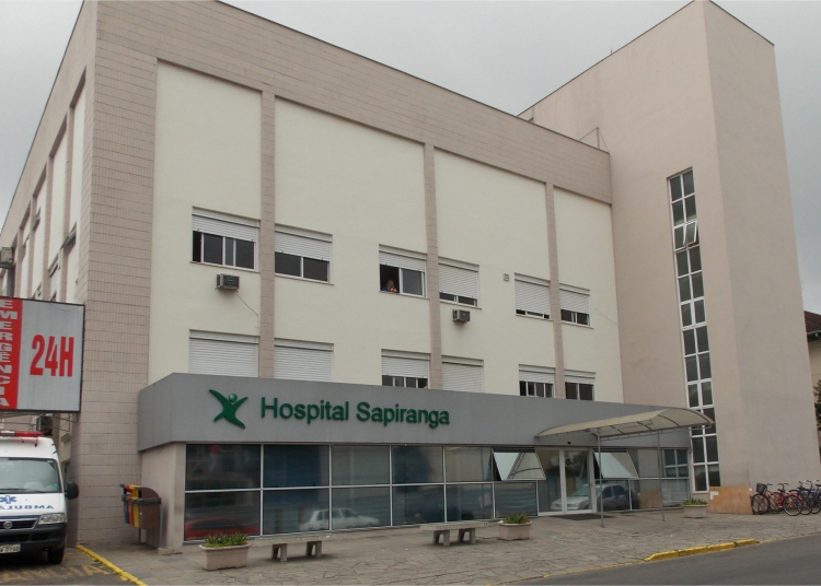 Hospital de Sapiranga. Foto: Hospital Sapiranga / Divulgação