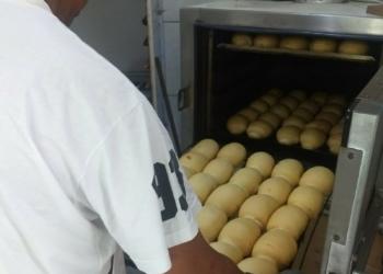 Os detentos produzem, diariamente, cerca de 300 pãezinhos. Foto: Divulgação/ Susepe