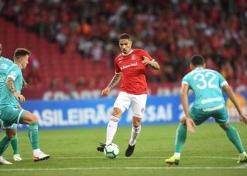Guerrero durante jogo no Beira-Rio. Foto: Ricardo Duarte/Inter (Arquivo)