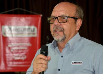 Presidente da Cooperativa Languiru, Dirceu Bayer. Foto: Leandro Augusto Hamester/Divulgação