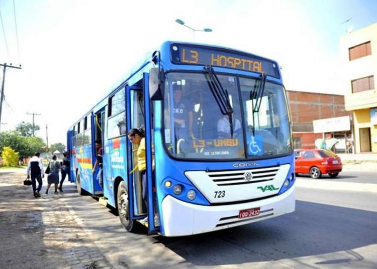 Ônibus da empresa VAL (Viação Alvorada). Foto: Arquivo / Prefeitura de Alvorada