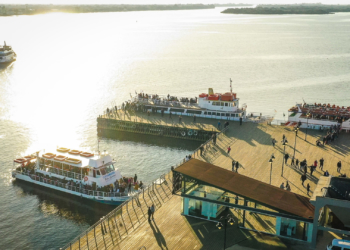 Média mensal de passageiros nas embarcações autorizadas cresceu 62,95%. Foto: Jefferson Bernardes/PMPA