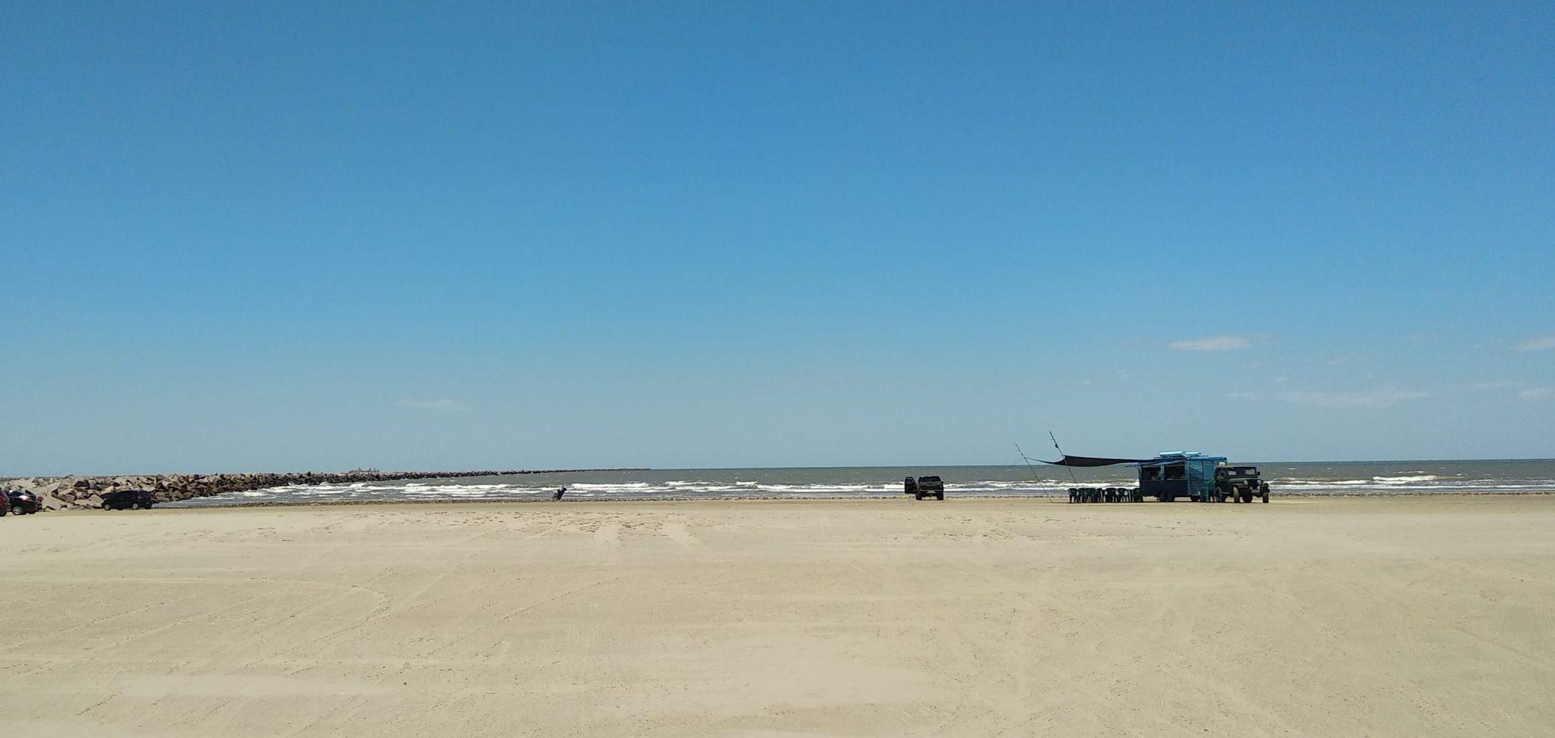Imagem da Praia do Cassino, em Rio Grande. Foto: Rosana Klafke/Sem Roteiro