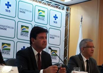 Luiz Henrique Mandetta, reforçou a orientação da pasta para que as pessoas tenham precaução na hora de viajar. Foto: Renata Momoe / ASCOM MS