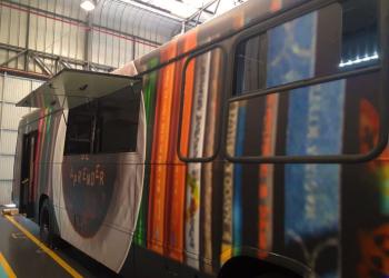 Tintas Killing ônibus do projeto
