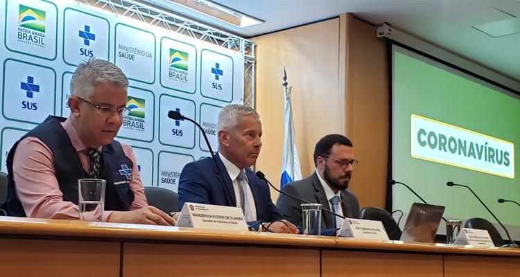 Balanço foi apresentado pelo secretário de Vigilância em Saúde, Wanderson de Oliveira. Foto: Renata Momoe / ASCOM MS