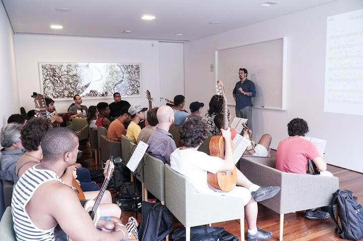 Projeto de educação musical oferece cursos no Instituto Ling e no Multipalco do Theatro São Pedro. Foto:  Tom Silveira/Divulgação