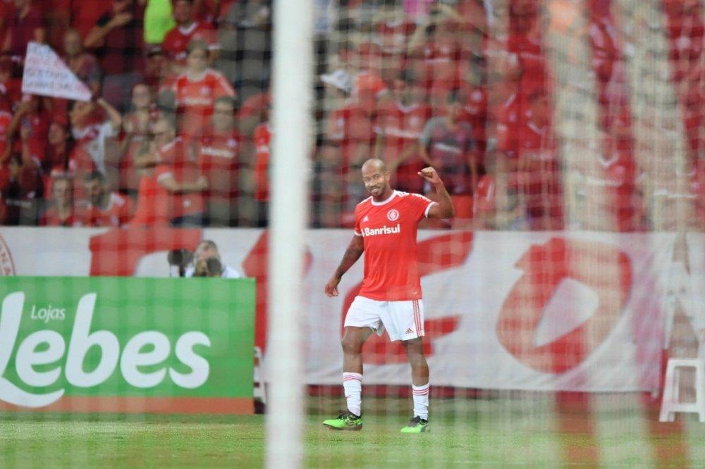 Patrick fez dois gols contra o Brasil de Pelotas. Foto: Ricardo Duarte/Divulgação