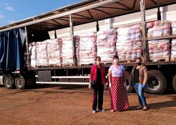 Entrega dos kits de alimentação escolar chega às regiões das Missões e Noroeste.  Foto: Divulgação / Seduc
