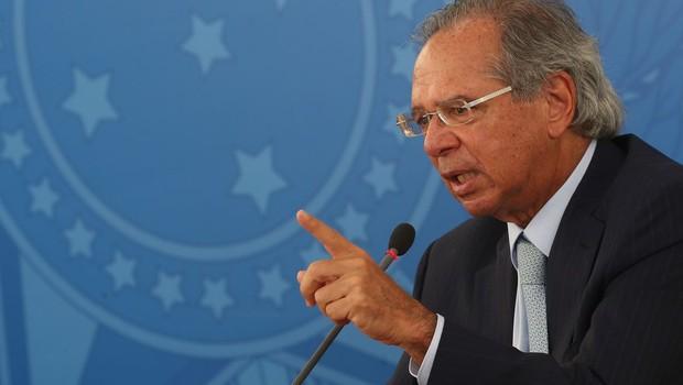 O ministro da Economia, Paulo Guedes. Foto: Marcello Casal Jr/Agência Brasil